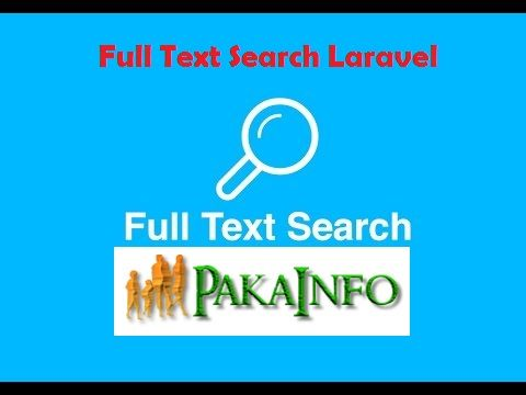 MySQL Full Text Search Laravel Tutorial With Example