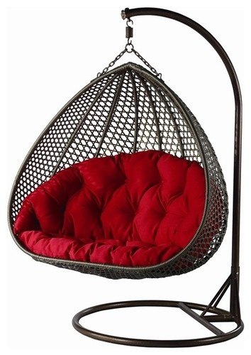 Yahg Double Wide Hanging Chair - contemporary - outdoor chairs - minneapolis - DefySupply.com