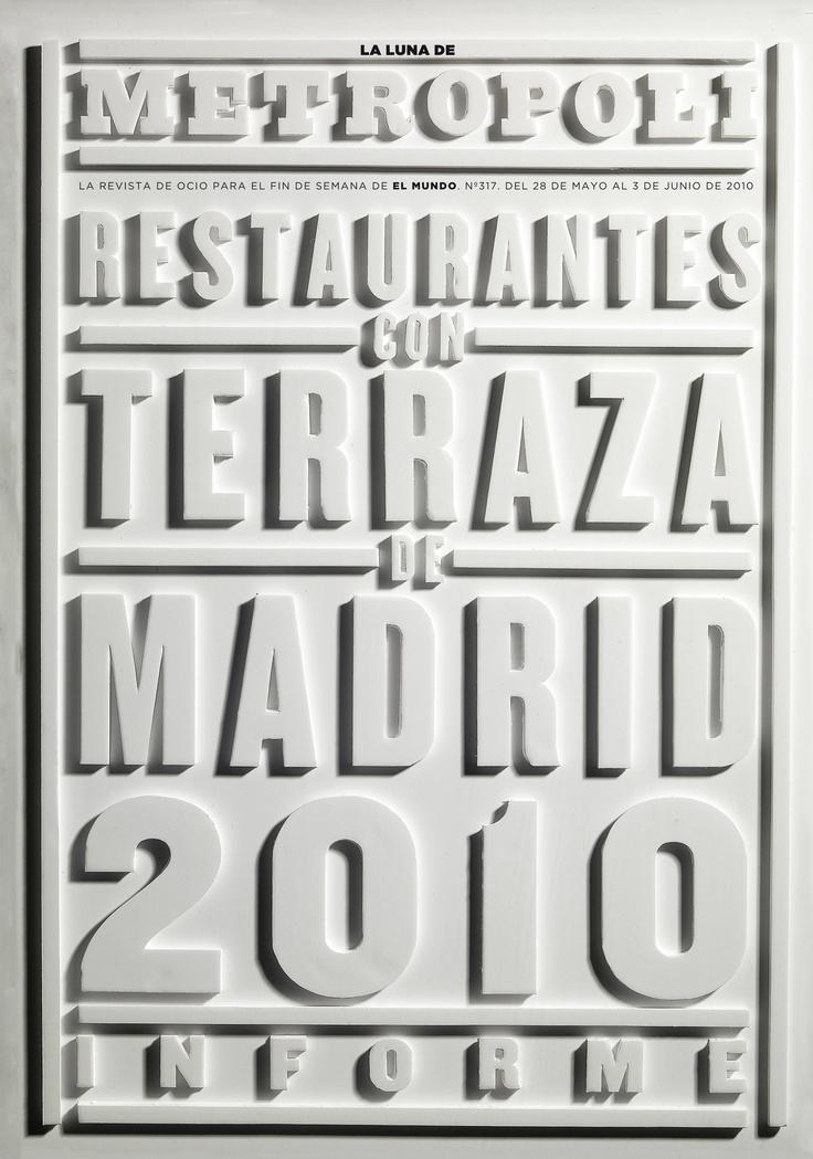 Restaurantes con terraza 2010.