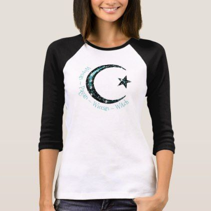Woman Pagan Wiccan Witch Crescent Moon TShirt - craft diy cyo cool idea