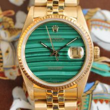 Rolex Oyster Perpetual Datejust Malachite