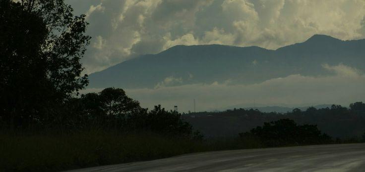 Paisaje, Popayán. Foto por Gloria Vejarano