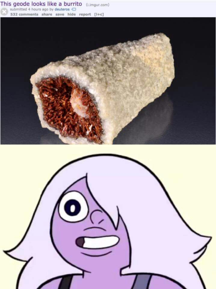 If Amethyst are this would she be a cannibal?!?!<<<shorty squad members are cannibals.