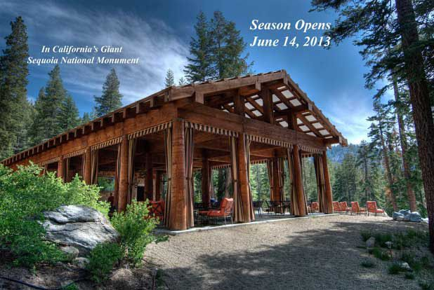 high sierra cabin in sequioa national park; clamping!!! Want to do this!