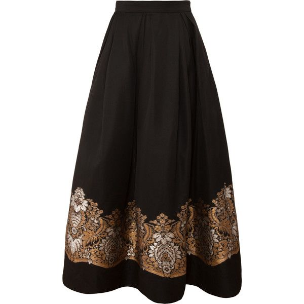 MARTIN GRANT Embroidered Ball Skirt found on Polyvore