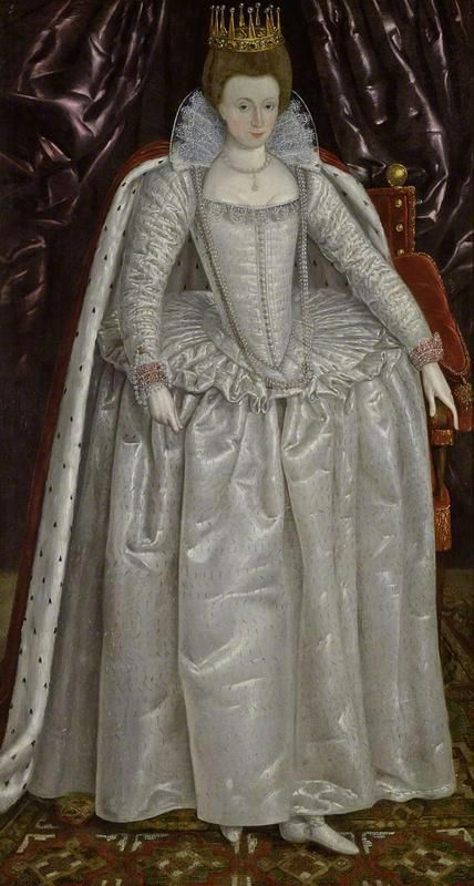 Elizabeth Vernon, Countess of Southampton, probably dressed for the coronation of James I of England in 1603 by ? (Fitzwilliam Museum, Cambridge University - Cambridge UK) bbc.co