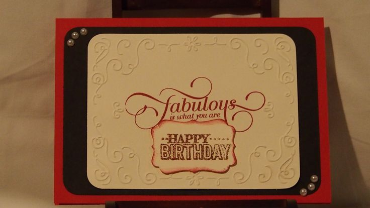 A special card for a special girl who is turning 21 shortly.