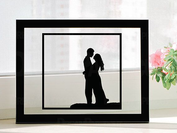 Handmade First Wedding Anniversary Personalized Paper Cut Gift - UNFRAMED by DreamPapercut on Etsy https://www.etsy.com/listing/97913973/handmade-first-wedding-anniversary
