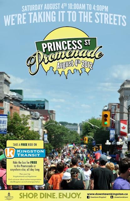 Long Weekend Fun At The Princess Promenade Downtown Kingston via @VisitKingston