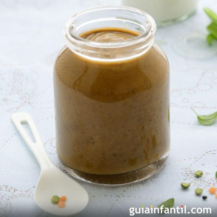 Receta de puré de lentejas para bebés. Guiainfantil.com nos propone una receta con muchos minerales y nutrientes, en esta sencilla receta de puré de lentejas para bebés a partir de los seis meses de edad.