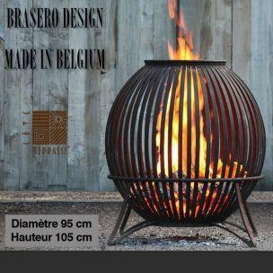 COTE TERRASSE ET JARDIN : Brasero de jardin - Ø 95 cm - Made in Belgium