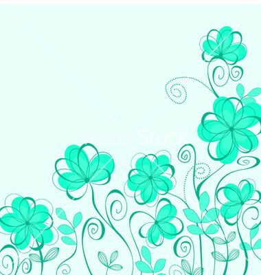 Abstract flower background vector 592117 - by Seamartini on VectorStock®