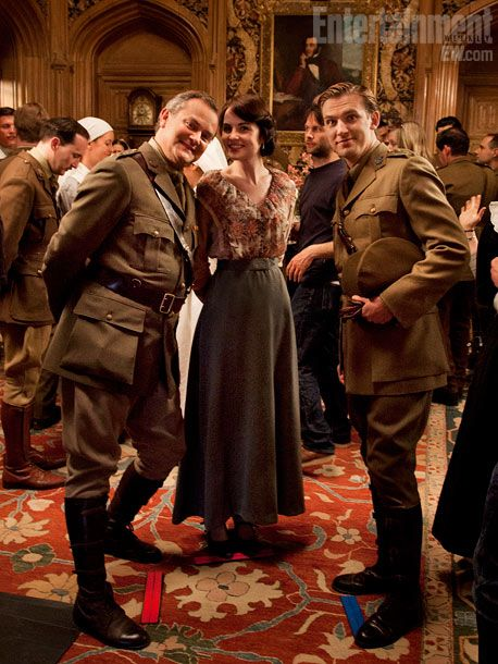 Downton Abbey | behind the scenes: Abbey Series, Downtonabbey, Entertainment Weeks, Then Steven, Seasons, Scene Downton, Downton Abby, Downton Abbey, Behind The Movies Scene
