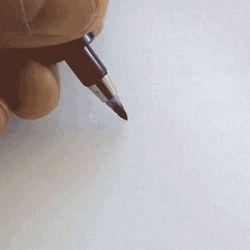 Lettering by Matt Vergotis Medium used: Zebra Disposable Brush Pen - Super Fine