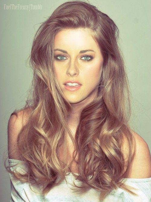 Hate her, but adore the do.Hair Colors, Haircolor, Makeup, Long Hair, Beautiful, Kristen Stewart, Hair Style, Hair Looks, Kristenstewart