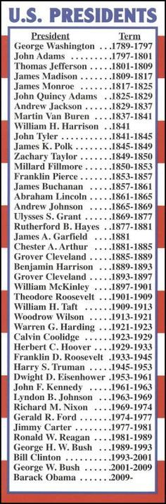 If All Presidents Are Related, Which of The 2017 ... - VL