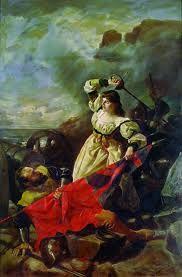 """María Pita En 1589 La Coruña es atacada por la escuadra inglesa al mando del pirata Drake. Cuando un oficial inglés iba a clavar la bandera inglesa en la muralla, María Pita tomó la espada matando al oficial y al grito """"quien tenga honra, que me siga"""" comenzó a luchar y a espolear a los coruñeses a defenderse. Los corsarios cedieron terreno y Drake ordenó la retirada. Acabada la batalla ayudó a levantar los cadáveres y curar a los heridos junto a Inés de Ben.Es considerada una gran heroína."""