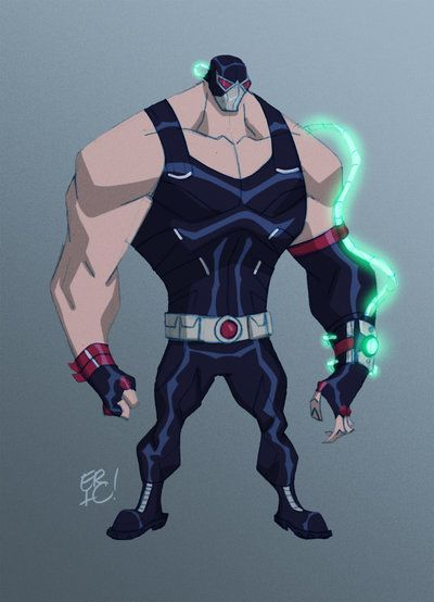 Bane Re-Design by *EricGuzman on deviantART