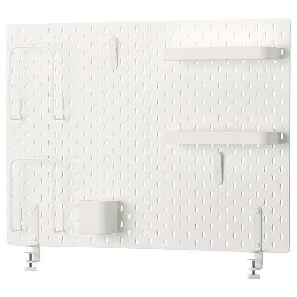 Skadis Lochplatte Kombination Weiss Ikea Deutschland Ikea Idee Ikea Pannelli Appendioggetti