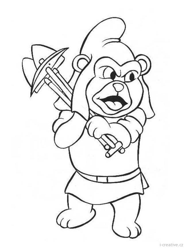Gummy Bears Disney Coloring Pages