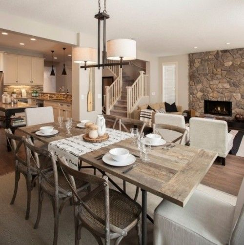 Traditional Rustic Dining Room Furniture