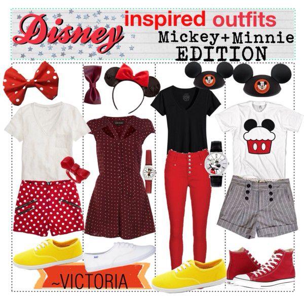 Mickey and Minnie Fashion