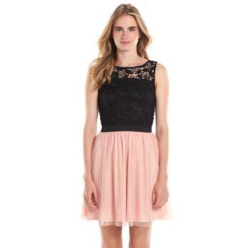 Lc Lauren Conrad Lace Fit Amp Flare Dress Women S Fit