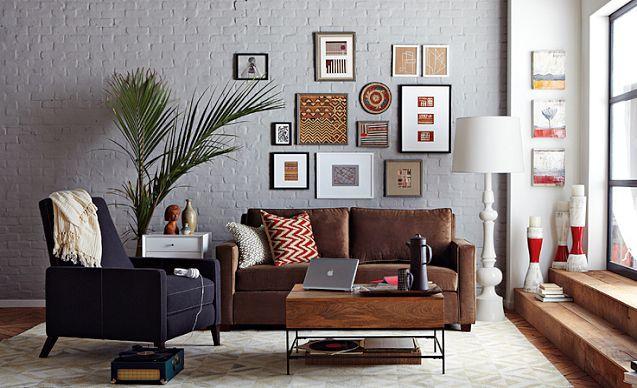 living room looks west elm bedroom pinterest. Black Bedroom Furniture Sets. Home Design Ideas