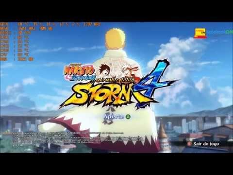 NARUTO SHIPPUDEN  Ultimate Ninja STORM 4 ACER VX5 GTX 1050 - YouTube