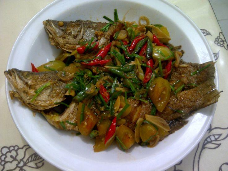 Ikan cukil lombok ijo