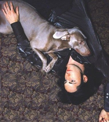 Trent Reznor and Daisy May!! Daisy was so pretty!!!