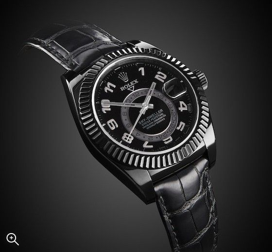 Rolex Sky Dweller: Night Sky | Titan Black | miscTime | Sky