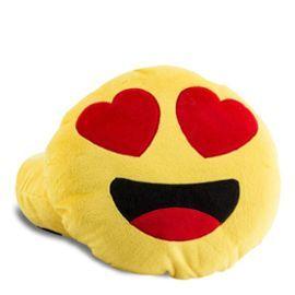 Coussin Smiley Amoureux Oreiller Emoji #ObjetInsolite #Insolite #Emoji #Coussin