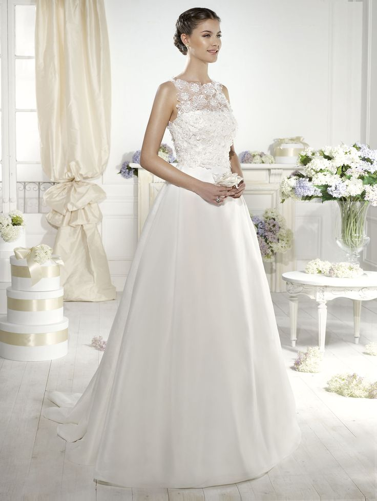 """""""Avery"""" #WeddingDress by Novia D'Art, 2014 Collections. www.noviadart.com"""