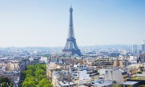Groupon - 8-Day Paris and Barcelona Vacation with Airfare and Accommodations from Gate 1 Travel in Paris and Barcelona . Groupon deal price: $11.99