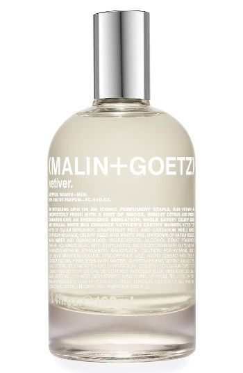 Free shipping and returns on SPACE.NK.apothecary Malin + Goetz Vetiver Eau de Parfum at Nordstrom.com. What it is: Malin + Goetz's Vetiver Eau de Parfum highlights the dual nature of the grassy plant, delivering an unexpectedly clean scent with a hint of smoke.Fragrance story: Native to the tropics, vetiver has a long and rich history as a fine fragrance ingredient, enveloping its wearer in its complex, earthy aroma and comforting, cozy warmth. Bright citrus and fresh cardamom give the pe...
