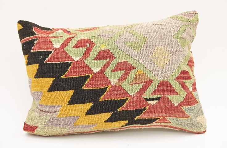 14'' x 20'' Kilim Lumbar Pillows