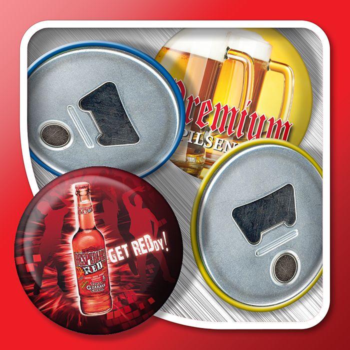 Magnetic bottle opener (3D effect)