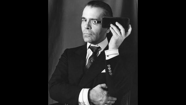 BBC - Culture - Karl Lagerfeld: Behind the mask
