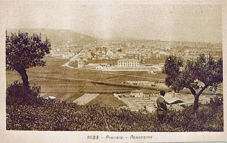 054 Caserma Di Cocco fotografata da Colle Pineta, 1930