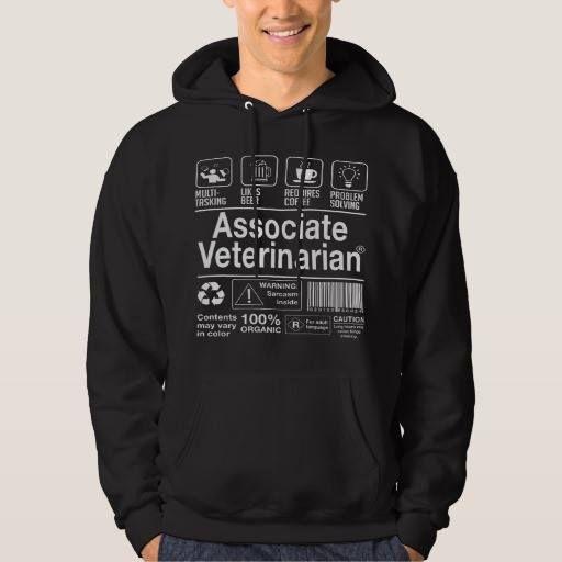 (Associate Veterinarian Hoody) #AssociateVeterinarian is available on Funny T-shirts Clothing Store   http://ift.tt/2c7BqvT