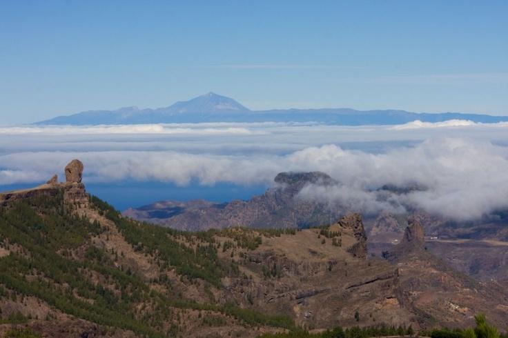Fotos del mar de nubes - Gran Canaria - Islas Canarias - España
