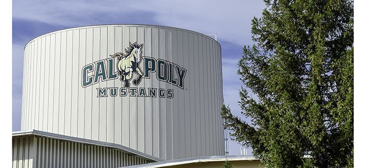 Cal Poly Water Tower