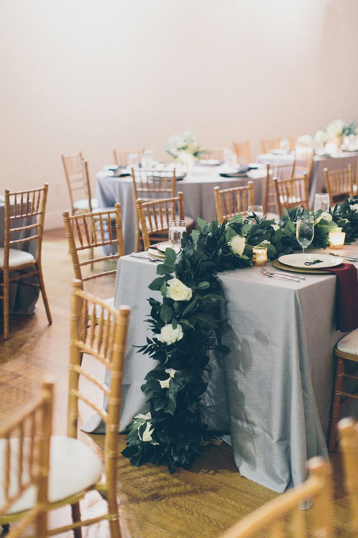 Southern Savvy Events | NC Wedding Planner | Reception Decor | Greenery | Tabletop Decoration | White Roses | Bloom Room Florals | Party Reflections China | Foundation For The Carolinas | Wedding Ideas | Charlotte Bride | Timeless Wedding | Wedding Design |