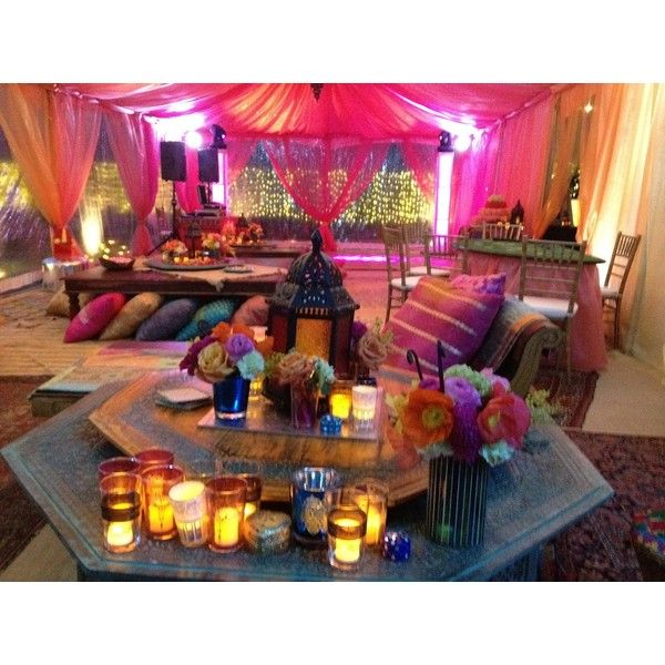 Moroccan Party ❤ liked on Polyvore