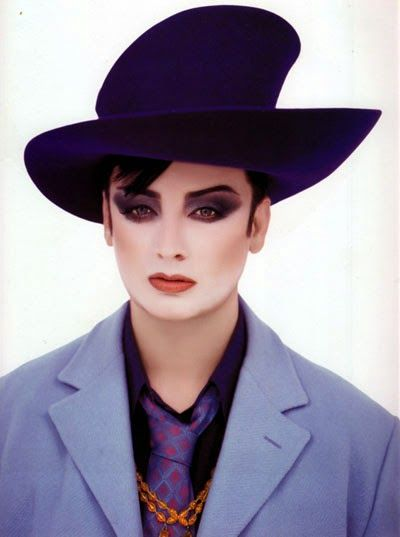 La question suave du jour : Boy George s'est-il égaré ?