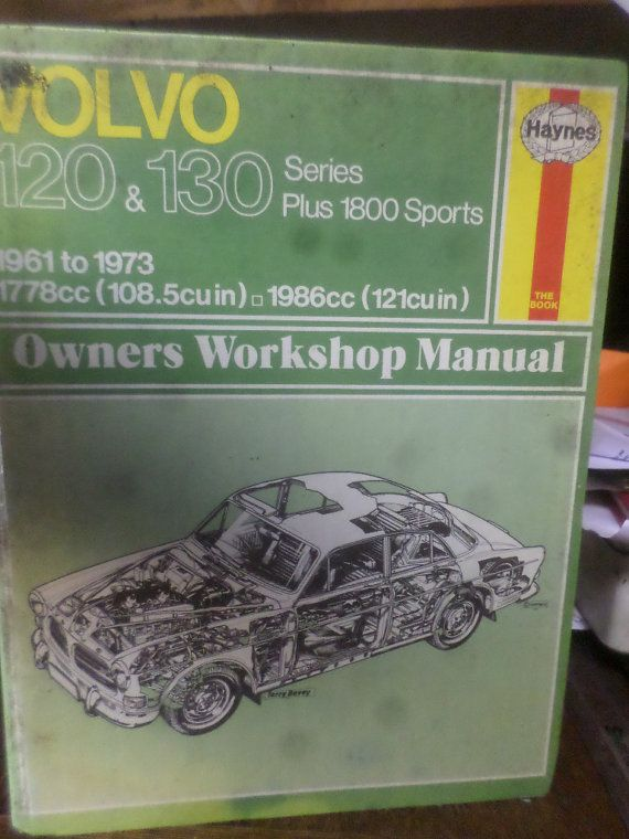Owners Workshop Manual  VOLVO 120  130 by BookShopBiblioteque, €11.50