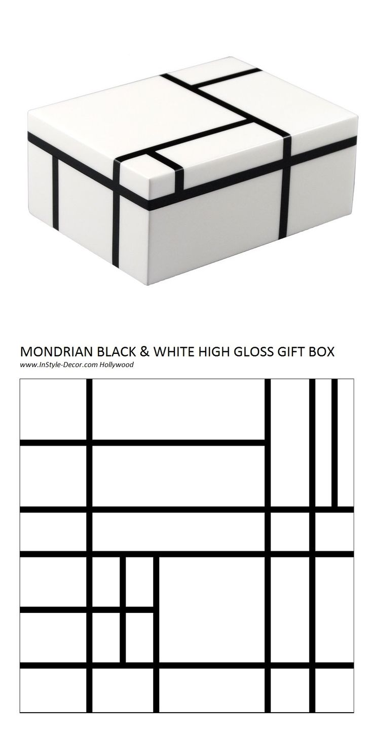18 best images about black and white gift box on for Box design hotel