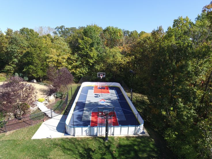 Backyard Roller Hockey Court House Ideas Pinterest Hockey - Backyard roller hockey rink