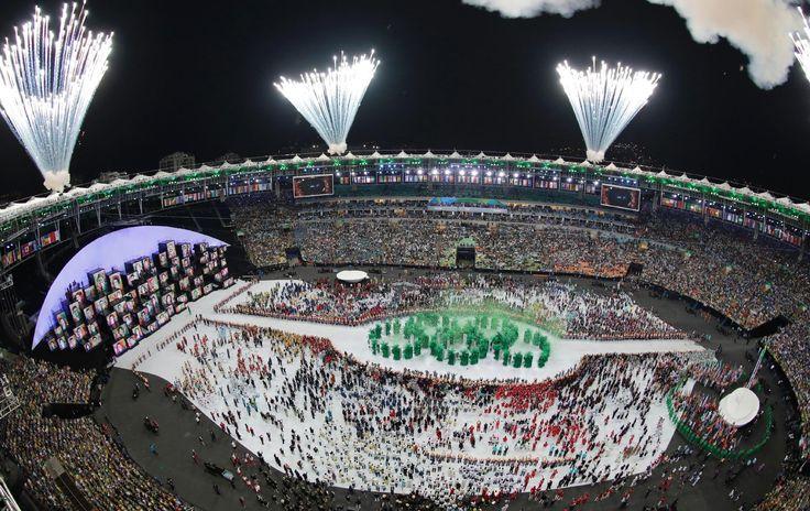 Cerimônia de abertura dos Jogos Olímpicos Rio 2016 - Olimpic Games Rio 2016. Brazil. - 5/8/2016